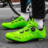 Bisiklet Ayakkabı 2021 Yaz Erkek Ayakkabı Sapatilha Ciclismo MTB Kendinden Kilitleme SPD Cleats Bisiklet Açık Yol Bisikleti Sneakers