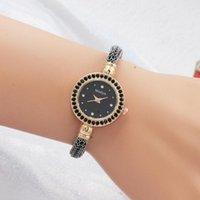 Armbanduhren Vibrato-Explosionsmodell personalisierte Diamant-Frauenuhr Großhandel Kugel-Armband mit Damen 2021