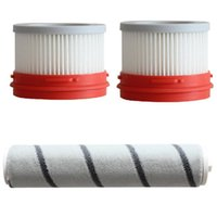 Vacuum Cleaners 3Pcs Strainer Carpet Roller Set Spare Accessory For Dreame V9 V10 Household Wireless Handheld Cleaner Accessories