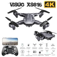 XS816 RC Drone WiFi FPV 4K Dual Camera 50 Times Zoom Optical...