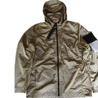 의류 Topstoney Konng 봄과 가을 얇은 패션 브랜드 재킷 야외 캐주얼 코트가있는 후드 칼라