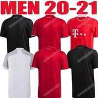 Bayern Man Soccer Jersey 20 21 Lewandowski Sane Monaco di Baviera Jerseys Camicia da calcio Kit Coman Muller Davies 2020 2021 Adult Shirts Humanrace