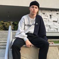Уличная мода [оригинальная упаковка] Гоша Рубчинский русский печатный сшитый свитер