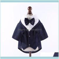 Pet Supplies Home & Gardenpet Tshirt Clothing For Dog Coat Wedding Suit Boy Tuxedo Poodle Bichon Pomeranian Schnauzer Costume Gentleman Outf
