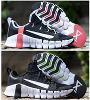 Metcon Grátis 3 Light Malha Plataforma preguiçosa Confortável All-Match Black para Mans Casual Sports Sneakers 36-45