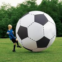 150cm Bola Bola Inflável Futebol Futebol Futebol Crianças Criança Jogos Jogos Balão Balão Gigante Voleibol PVC Piscina Accessorie