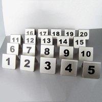 새로운 레스토랑 호텔 바 커피 바 도구 1-100 스테인레스 스틸 금속 테이블 번호 플레이트 도매