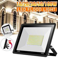 Floodlights 10W 20W 30W 50W 100W Led Flood Light AC180-240V Outdoor Floodlight Spotlight IP66 Waterproof Street Lamp Landscape Lighting