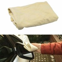 Car Sponge 2Pcs Auto Care Extra Large Motorcycle Natural Drying Chamois40*65cm Approx Free Shape Cleaning Genuine Leather Cloth