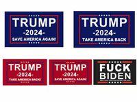Bandeira de Trump 2024 Bandeira eleitoral Bandeira Donald Trump Bandeira Mantenha a América Grande Novas Ivanka Trump Flags 150 * 90 cm 3x5ft Frete Grátis