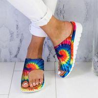 Женская обувь Площадь нижнего носа Рукава Chaussures Femme Платформа Сандалии Женские Женские Обувь Летние Запатилья Тапочки 2020 # T2G H8UF #