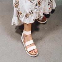 Женские Сандалии на платформе Женщины Peep Toe High Dihope каблуки Пряжки лодыжки Sandalia Espadriilles Женские сандалии Обувь Sparx Sandals Blue Boot Brooms B0O3 #