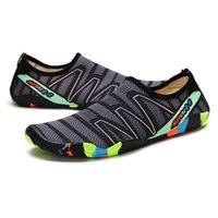 드롭 - 운송 야외 애호가 해변 여름 야외 신발 상류 워킹 워터 빠른 건조 스 니커 신발 Zapatos de Hombre 210301