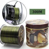 Braid Line 300m Carp Fishing Nylon Monofilament Mainline Invisible Sinking Coarse Leader For Accessories Tackle