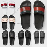 Con caja de alta calidad zapatillas sandalias sandalias zapatos casuales zapatos sandalias zapatos huaraches flip chancers mocasines desgastado Tamaño: 35-45 023