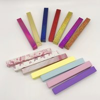 Other Makeup Eyeliner Pen Box Empty Self Adhesive Eye Liner Pens for Strip lashes Mink Eyelash Custom Packaging Soft Paper Boxes