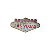 Toptan-Las Vegas Dekorasyon Metal Boyama Neon Hoşgeldiniz İşaretler LED Bar Duvar Dekorasyon 707 K2