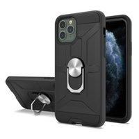 Cas de téléphone durs pour Samsung Galaxy S3 S4 S5 S7 S7 Edge plus On5 Remarque 3 5 J5 J7 J7 J3 PRO Porte-bague Magnétique PC TPU Couverture TPU