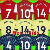 Maglia da calcio Arsen 21 22 PEPE SAKA Fans Versione giocatore Gunners ØDEGAARD THOMAS WILLIAN NICOLAS TIERNEY SMITH ROWE 2021 2022 Maglia da calcio Uomo + Divise kit per bambini