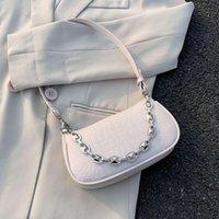 SWDF Small PU Borse a tracolla in pelle PU per le donne 2021 eleganti borse da viaggio femminile borse da viaggio signora moda borsa a mano catena design