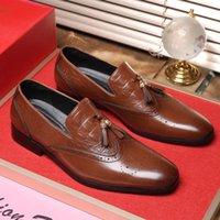 Robe Chaussures Chaussure Hombre Taille de Informales Vestir pour Mode Mocassins Automne 2021 Casuales Sneakers masculins Été Masculino Cuero Zapatos