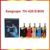 100% Original Kangvape TH-420 II Starter Kits 650mAh TH420 2 Batteriebox Mod 0,5 ml K1 Keramik Dicke Ölkassette Tank Kit auf Lager