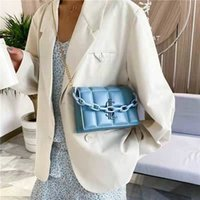 HBP new high quality ladies fashion shoulder bag classic leather plastic chain 1000