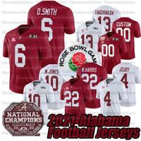 2021 Benutzerdefinierte Alabama Crimson Tide College Football Jersey 4 Brian Robinson 10 Mac Jonesjr. 22 Najee Harris Tagovailoa AndeName