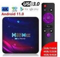 H96 Max V11 Android 11 TV Box RK3318 4G 64G Bluetooth 4.0 Google 4K Smart 2.4G 5G Wifi media player
