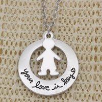 Kolye Kolye Moda Kazıma Adında veya Kişilik Hediye Kolye Erkek Kız Aşkınız Anahtar Alaşım Zincirleri Jewerly Kadınlar için N2040-1