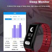 H777Plus Smart Armband Band 0.96inch OLED IP67 Armbänder wasserdichte Herzfrequenzmonitor EKG (EKG) Atemtraining Smartwatch