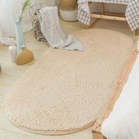 Carpets Thicken Bedside Rug Long Plush Carpet For Bedroon Living Room Shaggy Tapete Sala Floor Mats Solid Area Rugs Kids Play