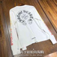 Hearts Chrome chrome Japan hearts crosin 2021 Rainbow Flower arm cross long sleeve T-shirt Unisex