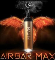2021 NEUESTE AIR BAR MAX MAX AUTION VAPE PENS PODS Gerät AIRBAR 1250MAH Batterie 2000 Puffs Puffstange Einweg-Vape-Stifte Einweg-Ecig