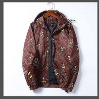 21-22 Topstoney Frühling und Herbst lose Stil Top Herren Soft Shell Jacke Mantel Mode Multicolor Vollständige Briefmännchen Jacke Hut Hoodies Sweatshirts