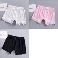 Детские модальные хлопковые шорты 2020 летние моды кружева короткие леггинсы для девочек безопасности брюки детские короткие колготки 240 U2