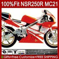 OEM-Injektion für Honda NSR250 NSR 250 R NSR250R 1990 1991 1993 103HC.66 MC21 NSR 250R PGM3 NSR250RR 90 91 92 93 Fabrik rot Gebeugungen