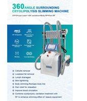 Cryolipolysis 3 CRYO Sapları Yeni Yağ Donma Cryolipolis Emme Makinesi Kilo Kaybı Hızlı 40 K Kavitasyon RF Lazer Pad Güzellik Makinesi ile