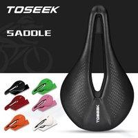 Bicicleta Saddles MTB Mountain Bicicleta Saddle Assento Road Corrida Almofada Geral Multi-cores Componentes de Ciclismo Parte Acessórios