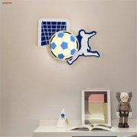 Wall Lamps Cartoon Children'S Room Basketball Football Led Lamp Baby Corridor Living Nursery Interior Decoration Kids Night Light