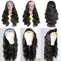 2021 Europejska i Amerykańska Pałąk Peruka Peruka Moda Dorywczo Czarny Wąż Curl Kręcone Włosy Z Dużą Wave Long Curly Hairr Real Wih Temperament Lady