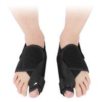 Apoio de tornozelo 1 par Bunion Corretor dedo Correção Correia Big Tom Bone Ortese Hallux Valgus alisadoras Chegadas