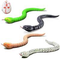 적외선 원격 제어 RC 뱀 고양이 장난감 및 계란 rattlnake 동물 트릭 무서운 장난한 아이 장난감 재미있는 참신 선물