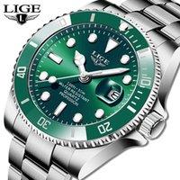 Lige Top Forma de lujo Moda de lujo Reloj Hombres 30atm Fecha a prueba de agua Reloj deportivo Relojes para hombre Reloj de pulsera de cuarzo Relogio Masculino