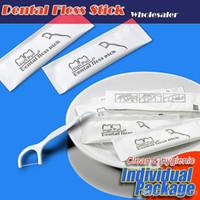 Portable Dental Floss Pick Personalizzato Denti Sticks ORAL CUR HYGIENE STURNIFICAMENTO PACCHETTO PER LA PACCHINA POLIETILENE Poliolo Dental Flosser YL0172