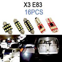 100% Mükemmel Beyaz Hata Ücretsiz Canbus LED Ampul İç Map Dome Işık Kiti X1 E84 X3 E83 F25 X5 E53 E70 X6 E71 (00-15)