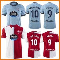 21 22 Celta de Vigo Soccer Jerseys Iago Aspas 2021 2022 Lejos Camiseta Fútbol Nolito F.Beltran Hugo Mallo Solari S. Mina Brais Méndez Home Hombre Jersey Camisa de Fútbol