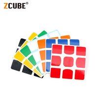 4 قطع ملصقات ل qiyi xmd valk3 السلطة valk 3 m 3x3x3 المغناطيسي ماجيك مكعب لغز ألعاب تعليمية