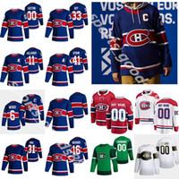 Montreal Canadiens 2021 Ters Retro Hokey Formaları 31 Carey Fiyat 14 Nick Suzuki Guy Lafleur Brendan Gallagher Shea Weber Özel