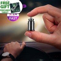 Adaptateur de chargeur de voiture mini USB 3.1A Universal Dual USB téléphone Chargeur de voiture pour Mercedes Benz W203 W211 W204 W210 W124 AMG W212 W202